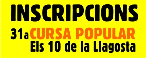 Inscripcions cursa popular 2018