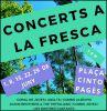 Concerts a la fresca