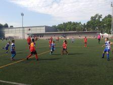 Un dels partits del Torneig del Club Esportiu la Llagosta.