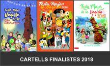 Cartells finalistes del concurs.