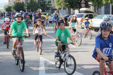 Una imatge de la Diada de la bicicleta de l'any passat.