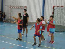 Alguns dels participants al Casal Multiesportiu d'Estiu.