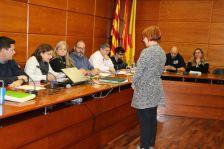Meritxell Carbonell prenen possessió del càrrec de regidora