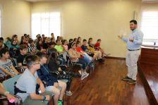 Visita de l'alumnat del Joan Maragall a l'Ajuntament