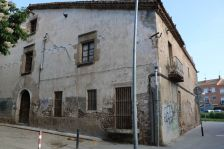 La masia de Can Baqué.