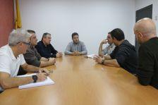 La reunió amb representants dels treballadors de Capresa.