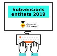Subvencions entitats 2019.